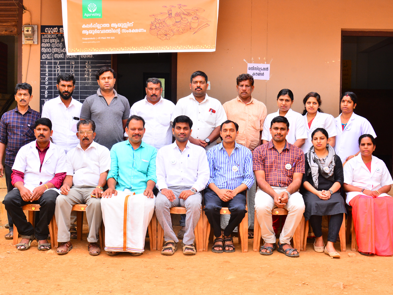 Ayurveda Free Medical Camp at Wayanad, Kerala