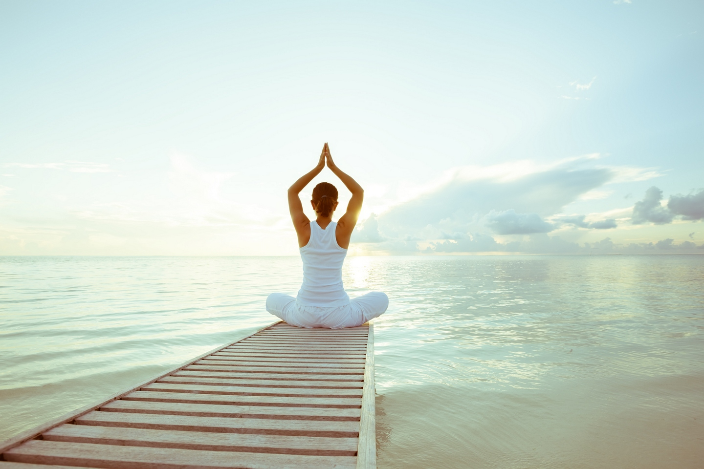 Complement yoga with sound sleep and a balanced diet